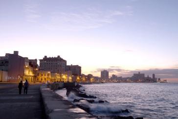 Malecón in Havanna
