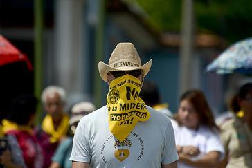 Proteste gegen den Bergbau in El Salvador