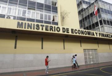 Sitz des Wirtschafts- und Finanzministeriums in Lima. Die Regierung Perus weist die Forderungen von Gramercy zurück