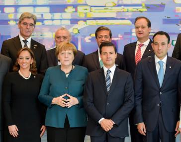 Merkel und Peña Nieto wollen Freihandel vorantreiben