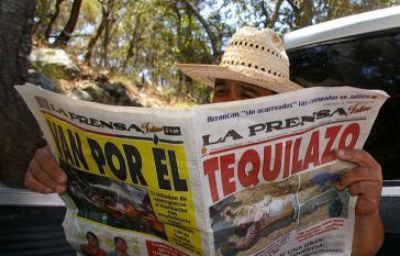 Die Presse in Mexiko berichtet fast täglich über Tote im sogenannten Krieg gegen die Drogen