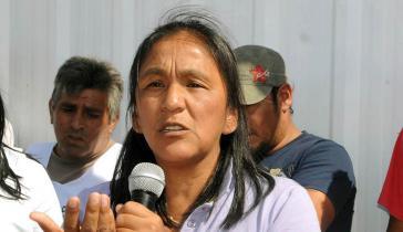 Milagro Sala ist eine führende Aktivistin in der argentinischen Provinz Jujuy.
