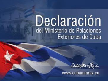Das Außenministerium von Kuba (Minrex) verurteilt den Staatsstreich, der in Brasilien im Gang ist