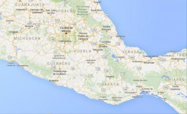 Betroffen ist ein riesiges Gebiet, das von der Atlantikküste des Staates Veracruz nach Chiapas an den Puerto Chiapas am Pazifik und von dort nach Norden bis zum Puerto Lázaro Cárdenas in Michoacán reicht