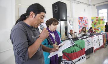 An dem Treffen der indigenen Landarbeiter nahmen Vertreter aus sechs Ländern teil