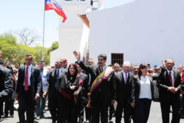 Nicolás Maduro, Präsident von Venezuela, am Freitag