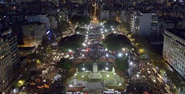 Zehntausende demonstrierten am 3. Juni allein in Buenos Aires gegen die Gewalt an Frauen