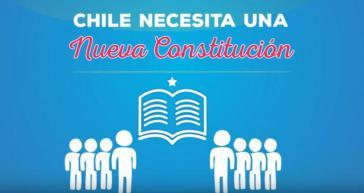 """Ausschnitt aus einem Video der Kampagne """"Chile necesita una nueva constitucion"""""""