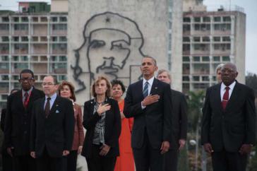 Obama auf dem Platz der Revolution
