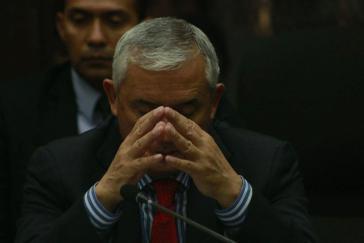 Angeklagt wegen Korruption: Otto Pérez Molina