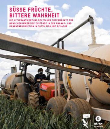 Titelblatt der Oxfam-Studie