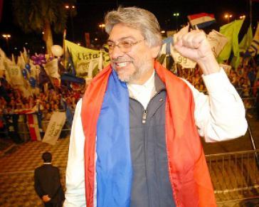 Ex-Präsident Fernando Lugo in Paraguay