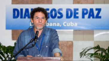 Einer der Sprecher der Farc alias Pastor Alape kritisiert die Dissidenten einer Guerilla-Front
