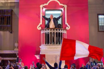 Pedro Pablo Kuczynski ist zum neuen Staatspräsidenten Perus gewählt worden