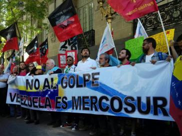 Proest in Argentinien gegen die Suspendierung Venezuelas aus dem Mercosur