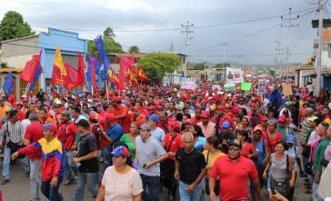 Am 17. Juni ging die Bevölkerung in Cumaná auf die Straße, um gegen die Ausschreitungen und Plünderungen zu protestieren