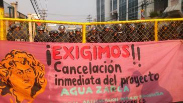 "TRansparent: ""Wir fordern den Stopp des Agua-Zarca-Projekts"" in Honduras"