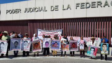 Protestaktion der Eltern der Verschwundenen im Bundesstaat Tamaulipas
