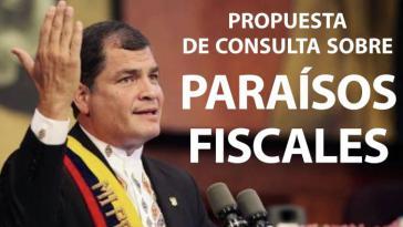 Präsident Rafael Correa in Ecuador hatte die Frage zur Volksabstimmung über Geld und Vermögen in Steueroasen beim Verfassungsgerichtshof eingebracht