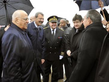 Raul Castro besucht Frankreich
