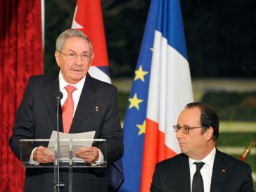Castro auf Staatsbesuch bei seinem Amtskollegen in Frankreich