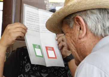 Die Wahlbeteiligung beim Referendum lag bei 84,45 Prozent