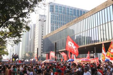 Am 11. September demonstrierten rund 50.000 Menschen in Sao Paulo