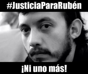 """Die Kampagne """"Gerechtigkeit für Rubén - nicht einer mehr"""" protestiert gegen die Morde an Journalisten in Mexiko"""