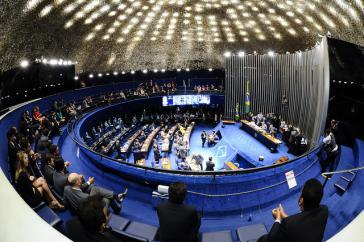 Plenarsaal des brasilianischen Senats
