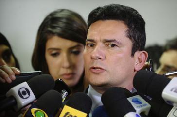 Steht in der Kritik: Bundesrichter Sergio Moro aus Brasilien
