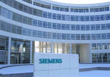 Niederlassung des Siemens-Konzerns in der Martinstraße in München