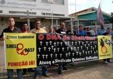 Chemiegewerkschaft Sindicato Químicos Unificados legt sich mit BASF und Shell an