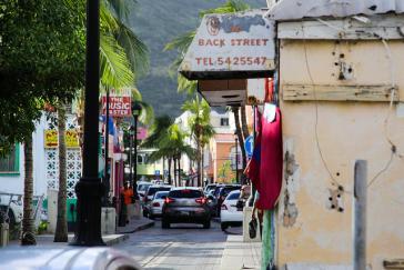 In der Straße von St. Maarten. Die Regierung soll ein Referendum über die Unabhängigkeit von den Niederlanden ausrichten