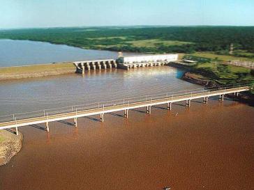 Der Staudamm Teles Pires