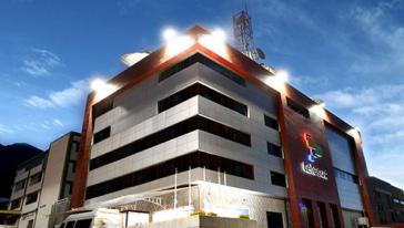 Sitz von Telesur in der venezolanischen Hauptstadt Caracas
