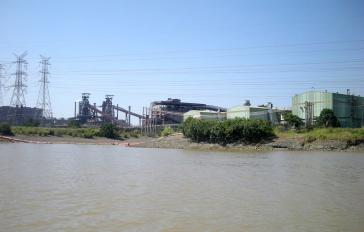 Das Stahlwerk TKCSA von Thyssenkrupp in Rio de Janeiro