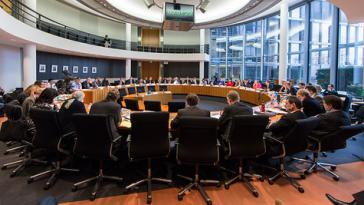 Sitzung des Umweltausschusses des Bundestags