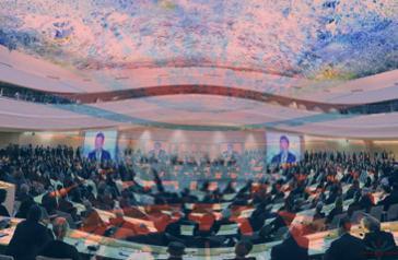 Der UN-Menschenrechtsrat in Genf