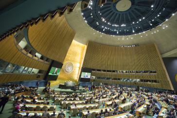 Generalversammlung der Vereinten Nationen Mitte dieser Woche