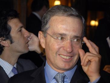 Kolumbiens Ex-Staatschef Álvaro Uribe