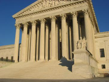 Sitz des Obersten Gerichtshofes der USA
