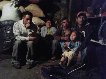 Vertriebene aus Banavil im mexikanischen Bundesstaat Chiapas