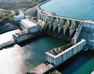 Staudamm mit Beteiligung von Voith – hier in Cana Brava, Brasilien