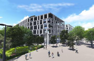 So soll es in Yachay laut Plänen zum Bau der Stadt einmal ausssehen