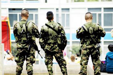 Die Freilassung oder Nicht-Verhaftung von Verdächtigen und Beschuldigten des Militärs kann Opfer gefährden