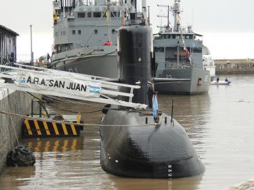 vermisstes U-Boot San Juan
