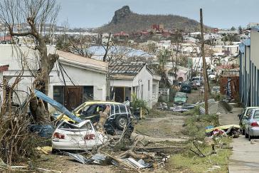 Wie hier auf Sint Maarten haben die Stürme Irma und Maria viele Inseln der Karibik schwer verwüstet