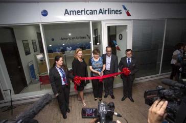 """""""Wir können nicht spekulieren, was Trumps nächster Schritt sein wird"""": American Airlines hat in Kubas Hauptstadt vergangene Woche ein Büro eröffnet"""