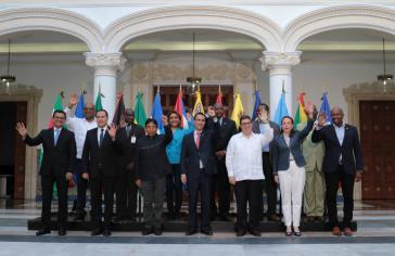 Die Außenminister des linksgerichteten Staatenbundes Bolivarische Allianz (Alba) kamen in Caracas, Venezuela, zusammen