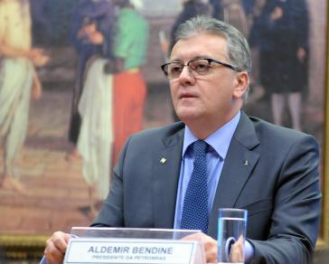 In Haft: der frühere Präsident des halbstaatlichen Erdölkonzerns Petrobras in Brasilien, Aldemir Bendine